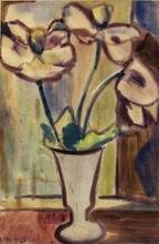 Heinrich SIEPMANN - Dessin-Aquarelle - Mohn (Poppy flower)