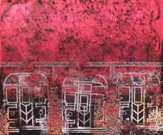 SONIC - Peinture - Sonic NYC A Trains
