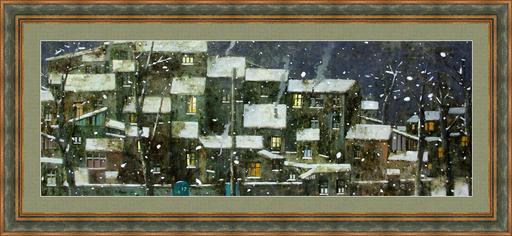 Zurab GIKASHVILI - Peinture - Christmas night