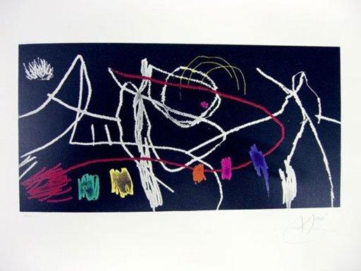 胡安·米罗 - 版画 - Grabados para una exposición