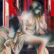 Jean-Baptiste VALADIÉ - Pintura - Evanescence