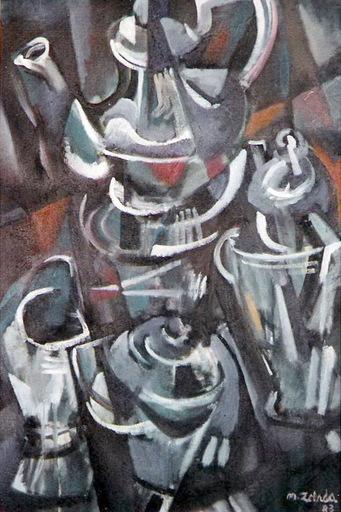 Miguel ZELADA - Peinture - JUEGO DE TE