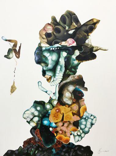 Diana HÖDING - Painting - Selbstvergessen