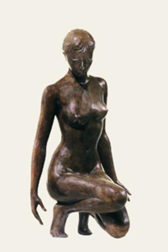 Jacques COQUILLAY - Skulptur Volumen - La natte