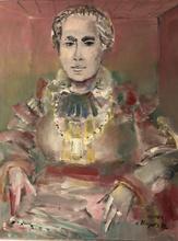Blasco MENTOR - Pintura - Portrait de femme
