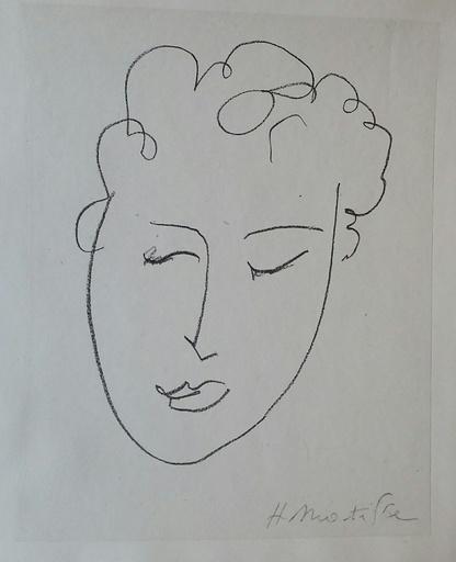 亨利·马蒂斯 - 版画 - Pierres levées  Jules ROMAINS