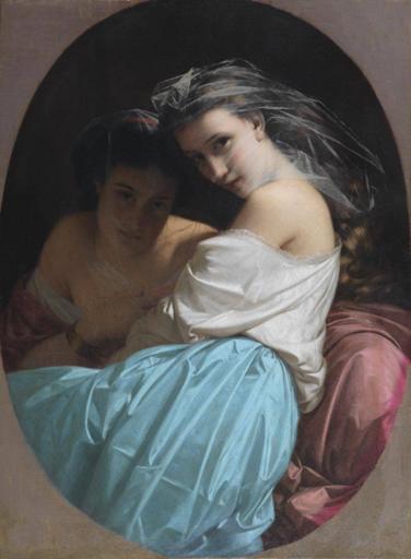 Michele RAPISARDI - Peinture - Le donne velate (Capriccio) di Michele Rapisardi