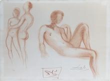 Salvador DALI (1904-1989) - Nus