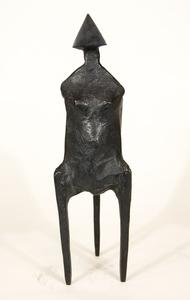 Lynn Russell CHADWICK - Skulptur Volumen - Standing Woman No 1