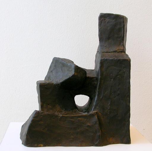 Fritz WOTRUBA - Sculpture-Volume - Kleine sitzende Figur