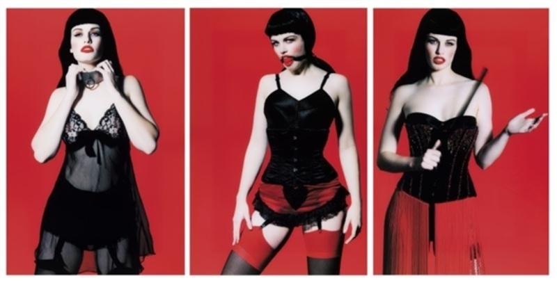 Marc LAGRANGE - Fotografie - Betty Page Trilogy (triptych)