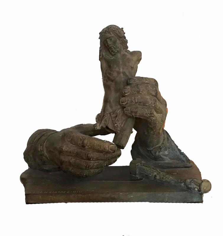 Julio LÓPEZ HERNÁNDEZ - Escultura - El marfilista del 42-I