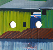 Tim TRANTENROTH - Painting - shacks south afrika