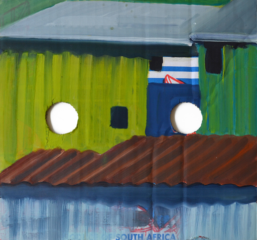 Tim TRANTENROTH - Pittura - shacks south afrika