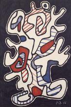 让•杜布菲 - 水彩作品 - L'Arbre II
