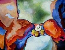 Claude THIEL DE NEUVILLE - Pintura - Passion isotherms n°11