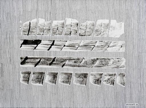 """Jérémie IORDANOFF - Disegno Acquarello - n°649  """"Iceberg"""""""