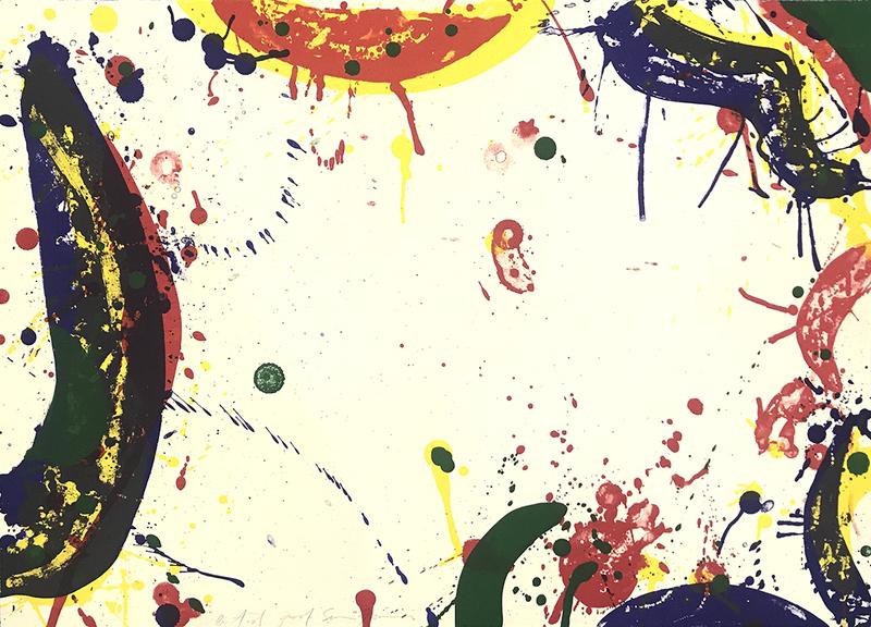 山姆•弗朗西斯 - 版画 - Sun Up