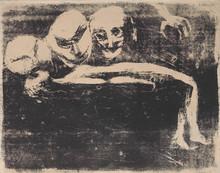 "Edvard MUNCH (1863-1944) - ""Tre ansikter. Tragedie"" / ""Three faces. Tragedy"""