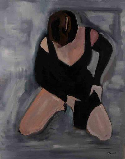 Violetta MALATERRE - Pittura - Narcisse