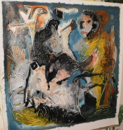 Bernard MOREL - Painting - LA LOUVE