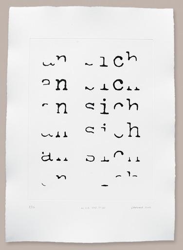 Heinz GAPPMAYR - Print-Multiple - An sich