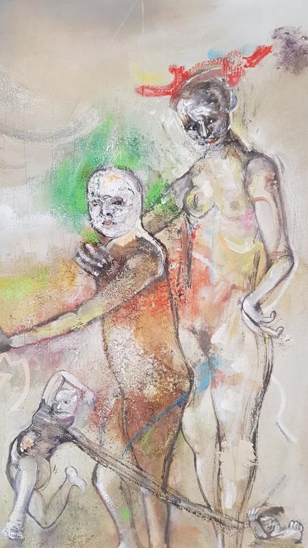 Ignacio MERIDA - Pittura - sans titre