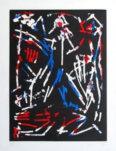 A.R. PENCK - Print-Multiple - Mul, Bul, Dang Sentimentality