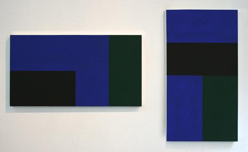 Knut NAVROT - Peinture - bleu (limite) occ. 2, 2-3/84