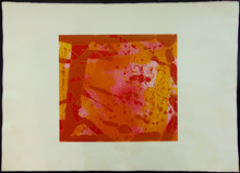 Sam FRANCIS - Print-Multiple - Red Coral