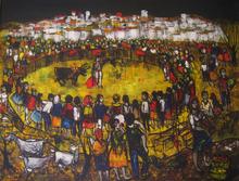 "Jean-Pierre SERRIER - Peinture - "" LE TOREADOR"""