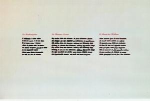 Emilio ISGRO - Gemälde - CANCELLATURA B38