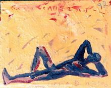 Jorge CABEZAS - Painting - la siesta