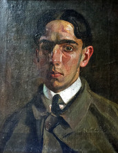 Manuel CABRÉ - Pintura - Retrato de Bernardo Monsanto