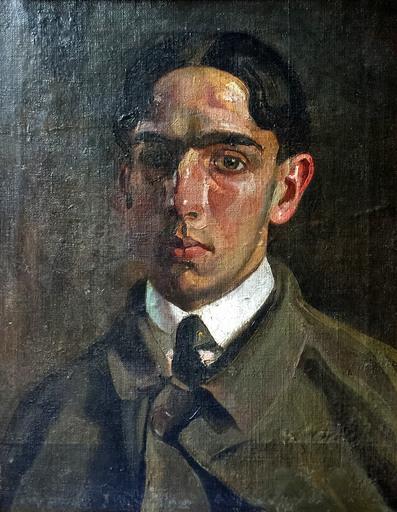 Manuel CABRÉ - Pittura - Retrato de Bernardo Monsanto