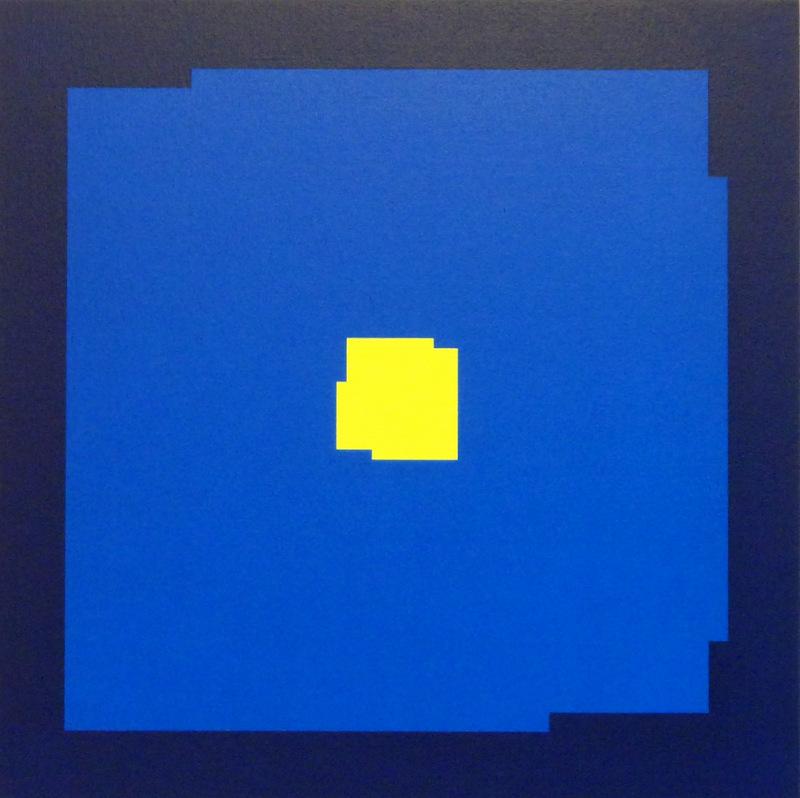 Yves POPET - Painting - XIV - 2009