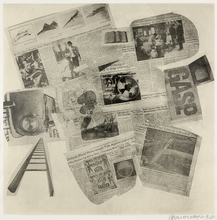 Robert RAUSCHENBERG (1925-2008) - Features from Currents