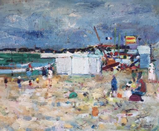 Robert SAVARY - Peinture - La Plage