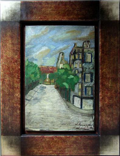 Nathan GRUNSWEIGH - Pintura - La Rue