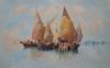 Andrea BIONDETTI - Dibujo Acuarela - lagune de Venise