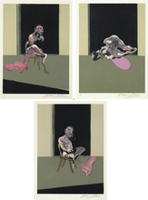 Francis BACON - Estampe-Multiple - TRIPTYCH - AUGUST 1972