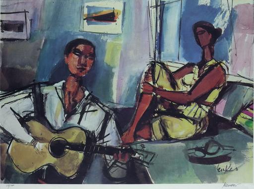 Zygmunt MENKES - Print-Multiple - Love Song