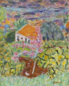 Pierre BONNARD - Painting - Maison du peintre au Cannet
