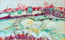 Carlos NADAL - Painting - Payssage
