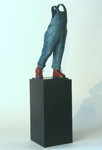 Guillaume WERLE - Sculpture-Volume - A Coluche,