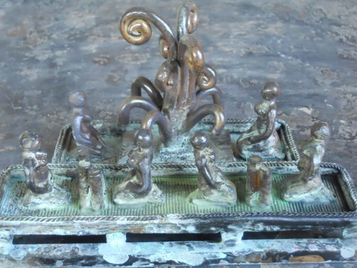 Michaël MAGNE - Sculpture-Volume - Attitude spectrale corroborée
