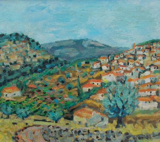 Paul SURTEL - Painting - Paysage