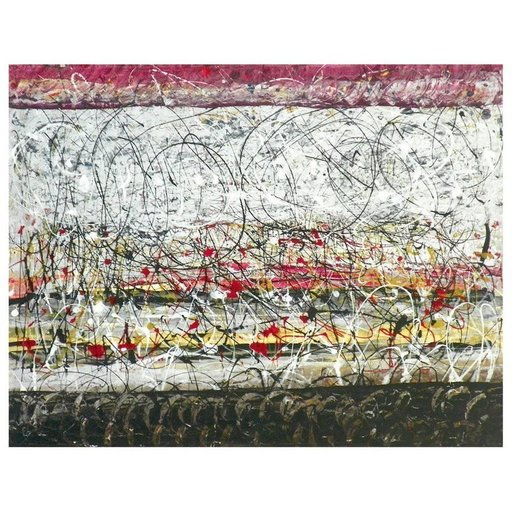 Tancredi PARMEGGIANI - Pittura - Abstract Painting by Tancredi