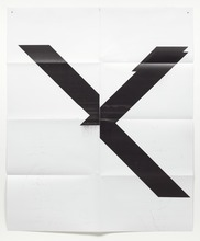 Wade GUYTON - Print-Multiple - Untitled X poster