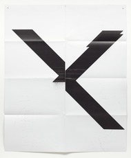 Wade GUYTON - Stampa Multiplo - Untitled X poster